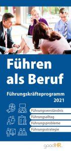 Cover Führen als Beruf, Führungskräfteprogramm 2021