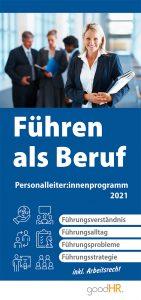 Cover Führen als Beruf, Personalleiter: innenprogramm 2021